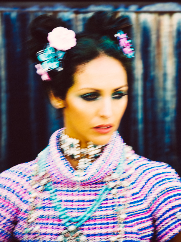 uliane Rossi models CHANEL Resort 2016 in a technicolr story styled by Kelly Framel of The Glamourai and photographed by photographer Jamie Beck of Ann Street Studio in Brooklyn, New York to celebrate the launch of Chanel's new online e-commerce.